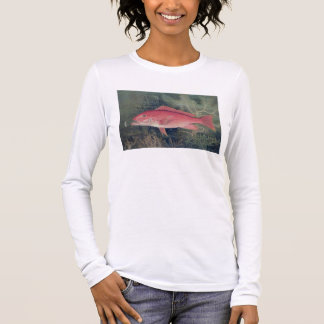 Red Snapper, from 'Game Fishes of the United State Long Sleeve T-Shirt