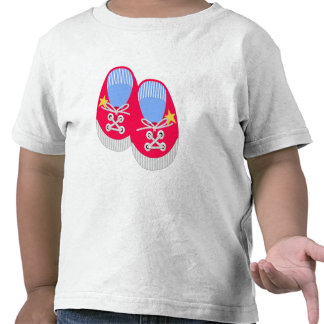 Red Sneakers Tee Shirts