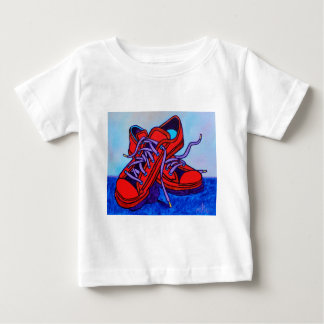 Red Sneakers Two Baby T-Shirt