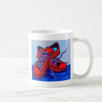 Red Sneakers Two Coffee Mug