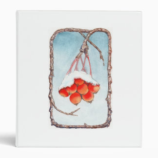 Red Snow Berry Binder