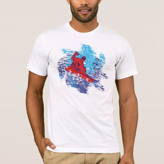 Red Snowboarder T-Shirt