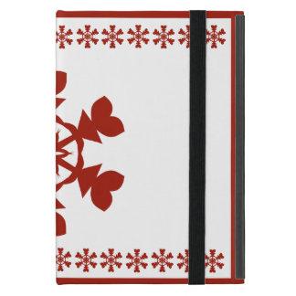 Red  Snowflakes iPad Mini Case