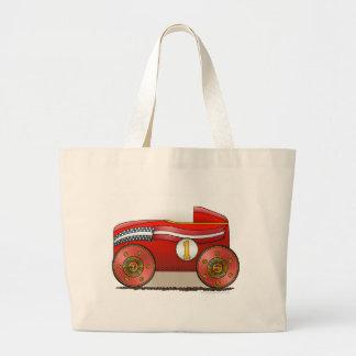 Red Soap Box Car Bags/Totes Jumbo Tote Bag