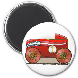 Red Soap Box Car Magnets