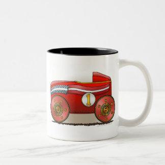 Red Soap Box Car Mugs