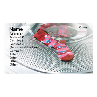 Red sock business card