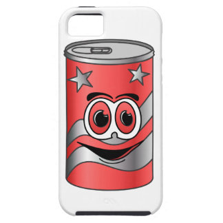 Red Soda Can Cartoon iPhone SE/5/5s Case