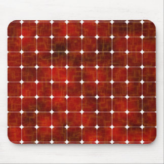 red solar cells mouse pad