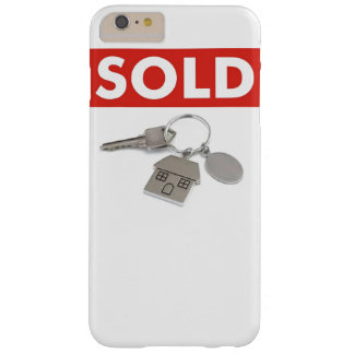 Red Sold Sign Real Estate Agents Home Keys iPhone Barely There iPhone 6 Plus Case