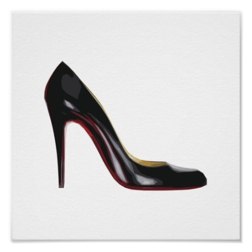 Red Sole Poster
