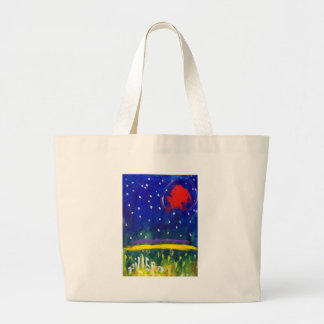 Red Son by Piliero Large Tote Bag