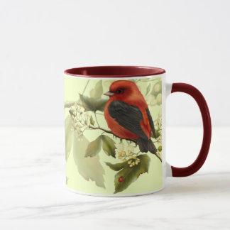 Red Songbird Mug