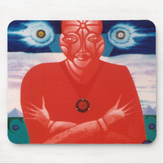 Red Soul by Gregory Gallo Mouse Pad