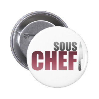 Red Sous Chef Button