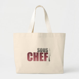 Red Sous Chef Canvas Bag