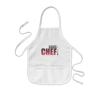 Red Sous Chef Kids' Apron