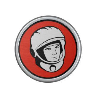 Red Soviet Cosmonaut Bumpster Speaker