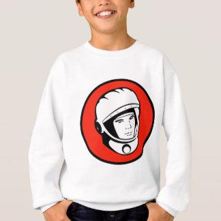 Red Soviet Cosmonaut Sweatshirt