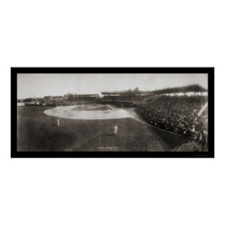 Red Sox White Sox Baseball Photo 1904 Poster