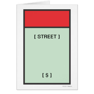 Red Space Card