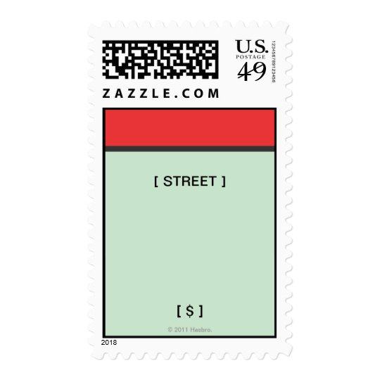 Red Space Postage