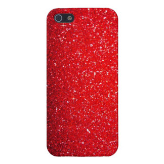 Red sparkle case for iPhone SE/5/5s