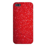 Red sparkle cases for iPhone 5