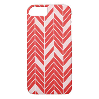Red Spearhead Pattern iPhone 8/7 Case