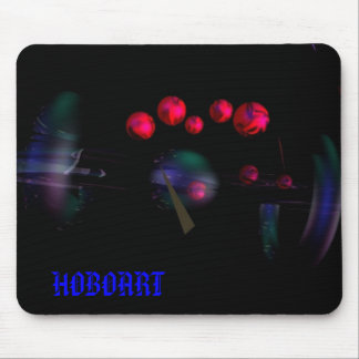 RED SPHERES, HOBOART MOUSE MATS