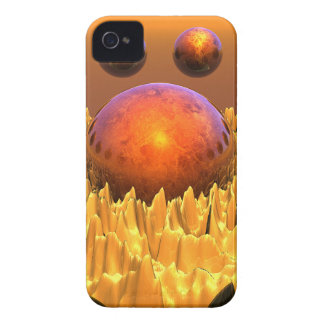 Red Spheres iPhone 4 Case