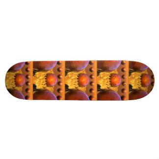 Red Spheres Skateboard Deck