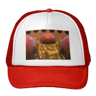 Red Spheres Trucker Hat