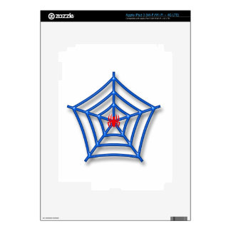 Red Spider Decal For iPad 3