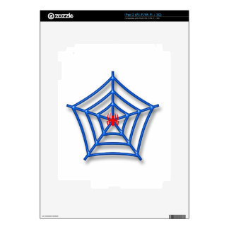 Red Spider Decals For iPad 2