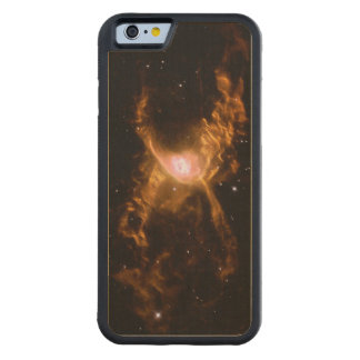 Red Spider Nebula Space Astronomy Carved Maple iPhone 6 Bumper Case
