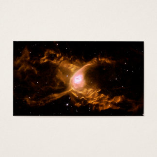 Red Spider Nebula Space Business Card