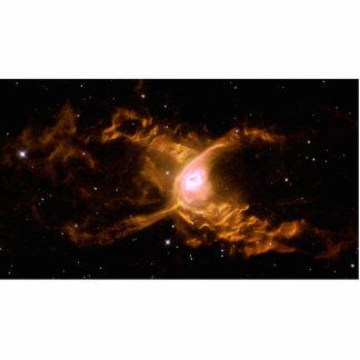 Red Spider Nebula Space Statuette