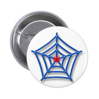 Red Spider Pinback Button