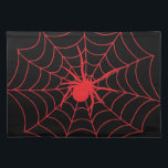 """Red Spider Placemat<br><div class=""""desc"""">Join Us On Facebook! http://www.facebook.com/CornersOfTheNight</div>"""