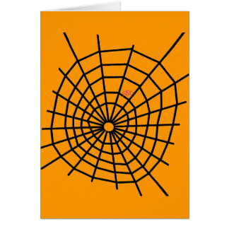 Red Spiders Web! Card
