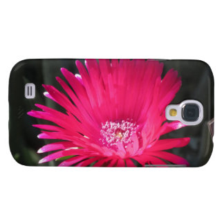 Red Spike Ice Plant Bloom Galaxy S4 Case