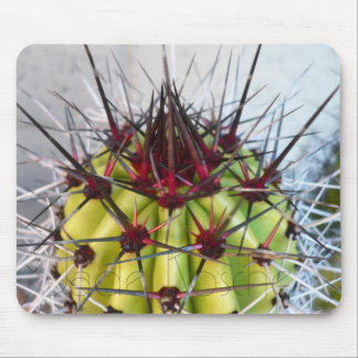 Red Spines Products Mouse Pad