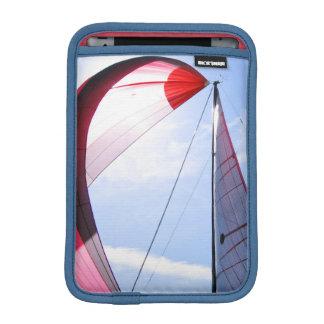 Red Spinnaker With Sun iPad Mini Sleeve