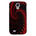 red spiral galaxy s4 case