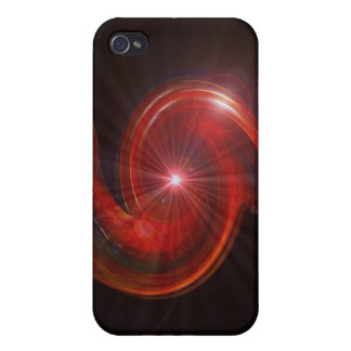 Red Spiral iPhone 4/4S Cases