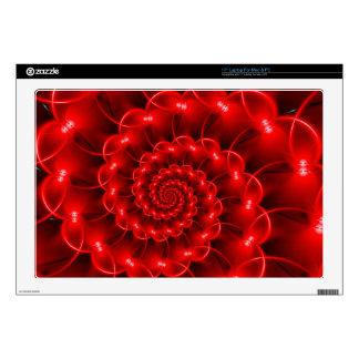 """Red Spiral  Laptop 17"""" Skin Skin For 17"""" Laptop"""