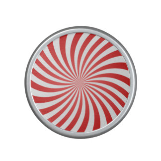 Red spiral speaker