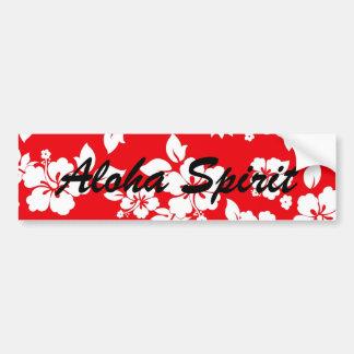 Red Spirit Bumper Sticker