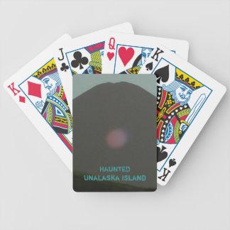 Red Spirit Orb on Unalaska Island Bicycle Playing Cards